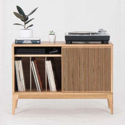 Retro Record Player Storage