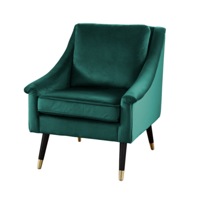Forest Velvet Armchair