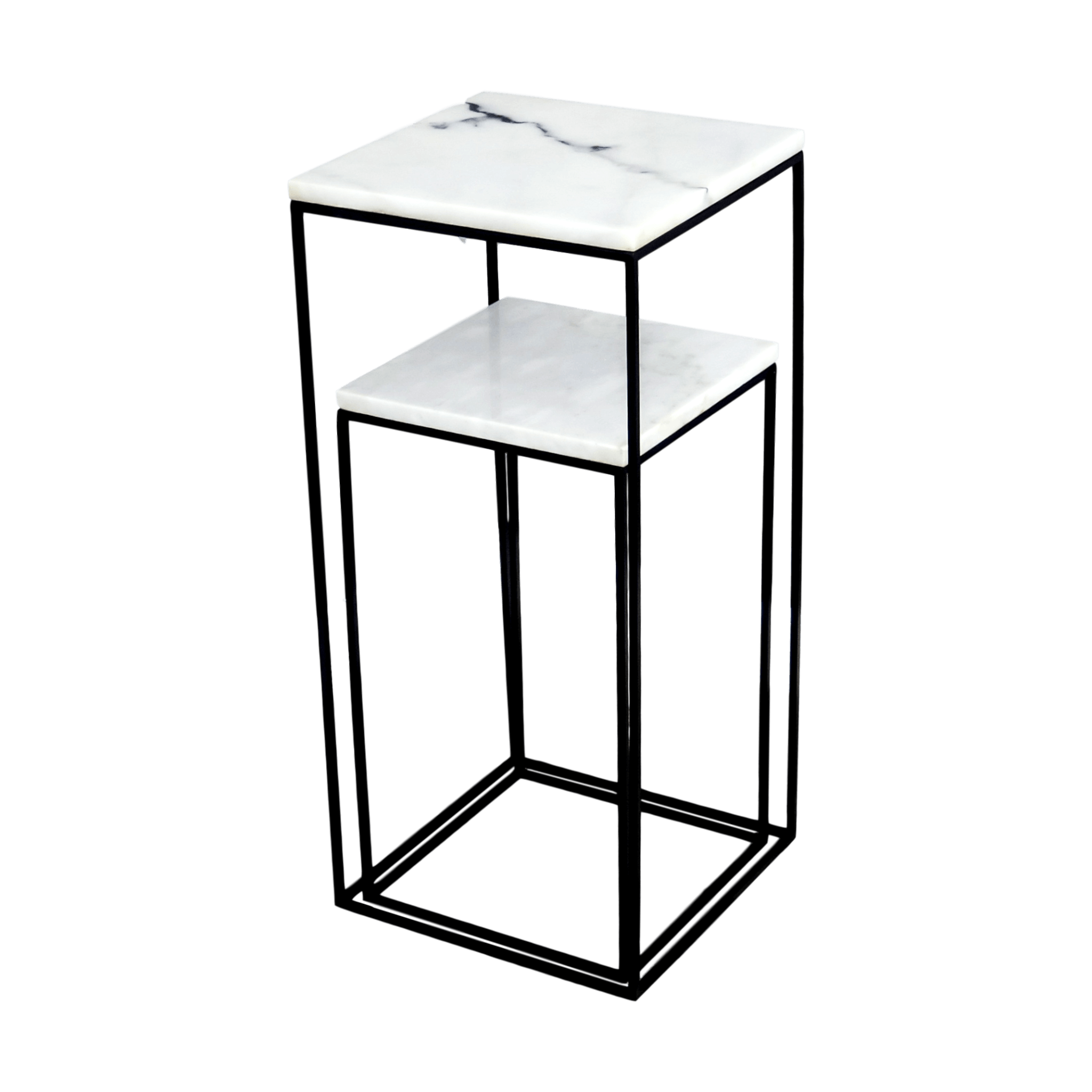 Twin Marble Side Tables