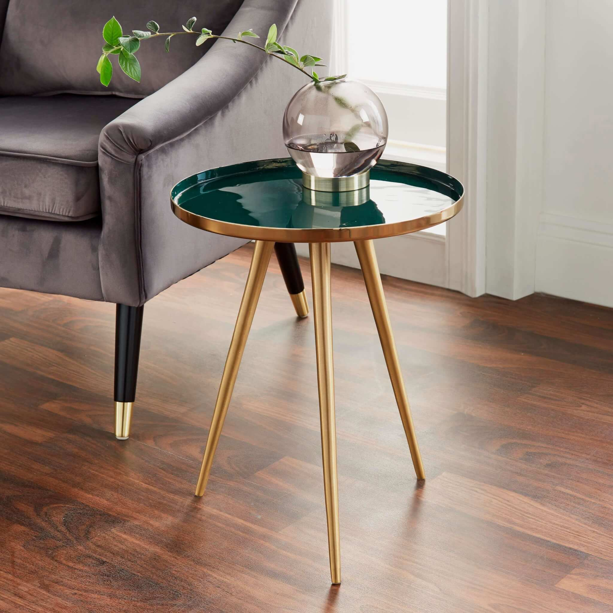 Forest Gold Side Table