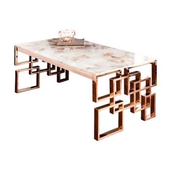 Marble Rose Coffee Table