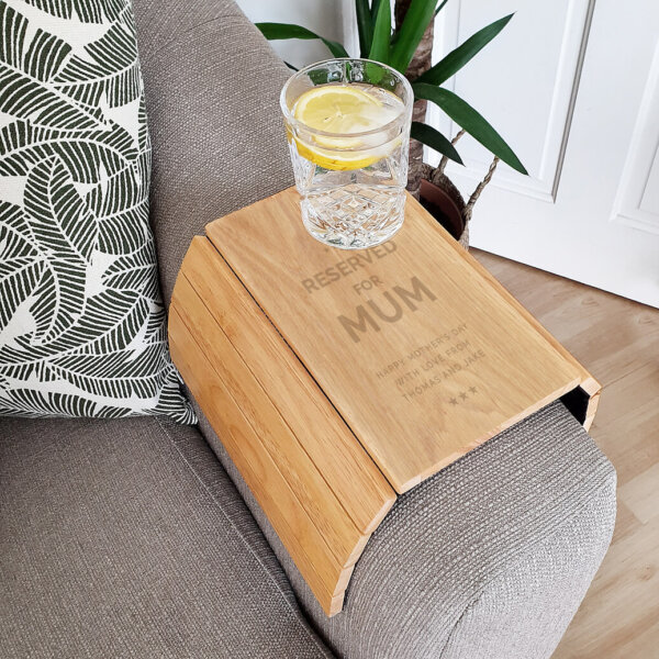 Reserved Wooden Sofa Tray